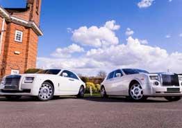 Rolls Royce Ghost and Phantom Wedding Car Hire