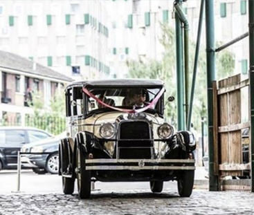 Classic Wedding Car Hire in Surrey