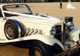 Ivory Beauford Wedding Car Hire