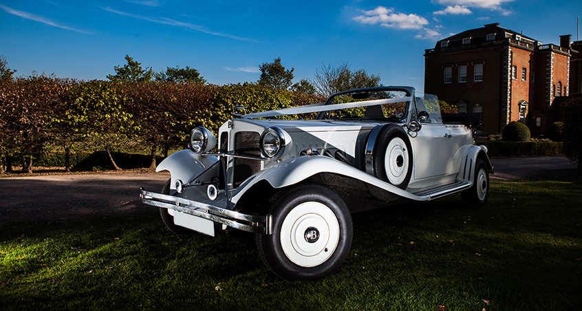 All White Beauford Header