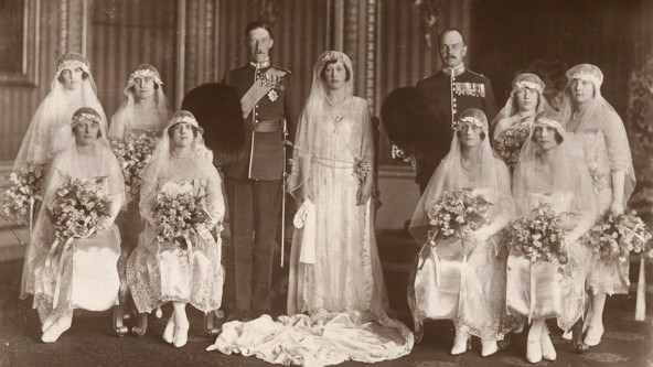 Prince Albert Queen Mother Wedding