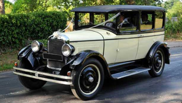 Studebaker 1927 Vintage Wedding Car Hire
