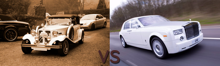 Why compare wedding cars?