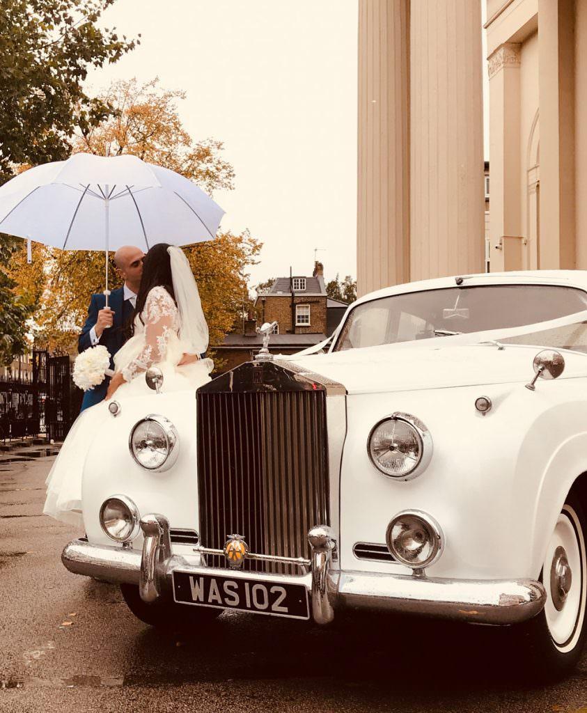 Rolls Royce Cloud Wedding Car Hire